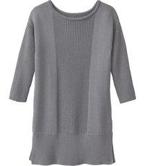gebreide pullover van bio-katoen, grijs 34