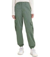 levi's high-waisted cargo pants
