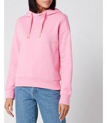 a.p.c. women's christina hoodie - rose - l