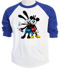 oswald the lucky rabbit,& mickey disney, t-shirt,s,m,l,xl,2x,3x,4x,5x,t-259