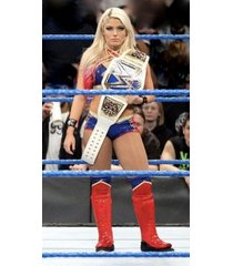 wwe   alexa bliss little miss bliss in the ring w/belt  2.5 x 4.5 fridge magnet