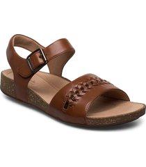 un perri way shoes summer shoes flat sandals brun clarks