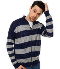 cardigan azul moni tricot
