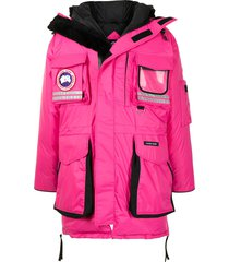 canada goose snow mantra padded coat - pink