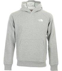 sweater the north face raglan redbox hoodie