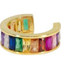 women's ragen jewels jumbo rainbow ear cuff