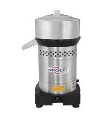 espremedor de frutas industrial spolu spl-007 inox 420w bivolt