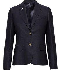 club blazer blazers business blazers blauw gant