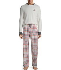 2-piece flannel pajama set