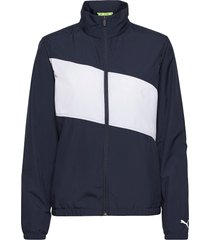 w first mile wind jacket outerwear sport jackets blå puma golf