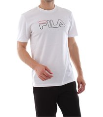 fila 687137 paul tee t shirt and tank men bright white