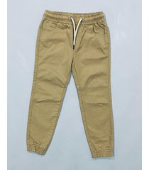 pantalón marrón waiting boys gabardina