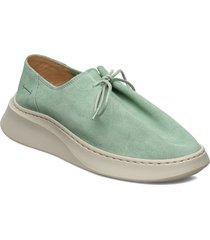 yatfai sneaker niente menthe snörade skor låga grön gram