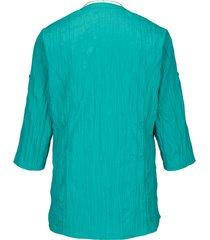 blus & halsband m. collection smaragd