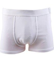 boxer blanco haas corto
