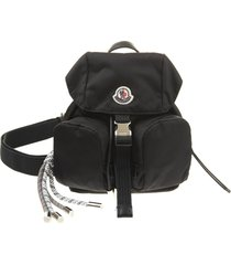 black mini dauphine woman backpack