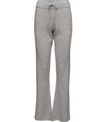 pants wijde broek grijs davida cashmere