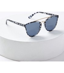 loft metal bar cateye sunglasses