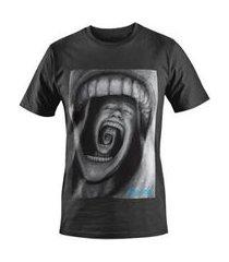 camiseta dez dez bocas masculina
