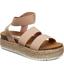 kimmie sandal sandaletter expadrilles låga beige steve madden