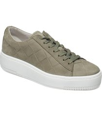 woms lace-up sneakers skor grön tamaris