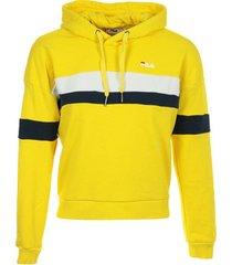 "sweater fila ella hoodie wn's ""empire yellow"""