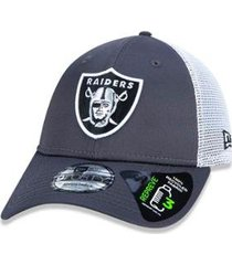 boné 940 oakland raiders nfl aba curva new era