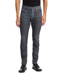 g-star raw men's 3301 skinny-fit jeans - dark aged - size 32 36