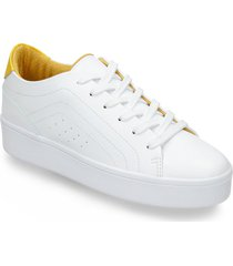 tenis casuales blanco bata weidy mujer