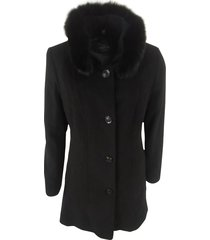 wool coat with fur 10030002