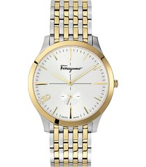 salvatore ferragamo slim bracelet watch, 40mm