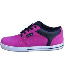 zapatilla fucsia  casbah shoes attitude