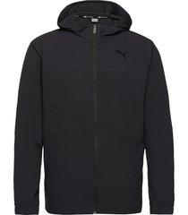 train vent woven jacket outerwear sport jackets svart puma