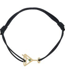 aliita 9kt yellow gold cocktail bracelet