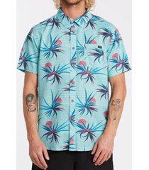 camisa m/c sundays floral ss celeste hombre billabong
