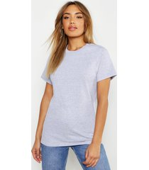 basic oversized boyfriend t-shirt, grey marl