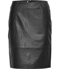 skirts kort kjol svart depeche