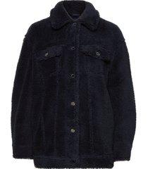 2nd miriam outerwear faux fur blauw 2ndday
