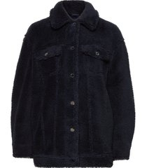 2nd miriam outerwear faux fur blauw 2ndday