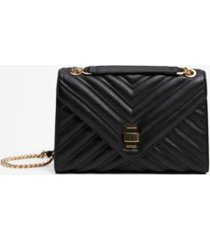 mango women's quilted chain shoulder bag