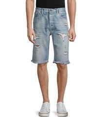 sagerton distressed denim shorts