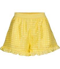 joselyn, 864 gingham poly shorts flowy shorts/casual shorts gul stine goya