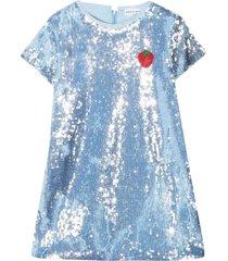 sonia rykiel enfant light blue dress