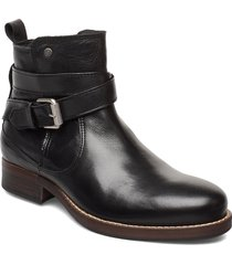 bristol shoes boots ankle boots ankle boots flat heel svart sneaky steve