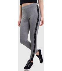 legging everlast glow gris - calce ajustado