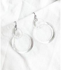 circle - kolczyki ze szkła