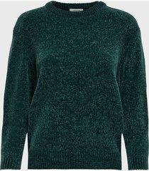 sweater  jacqueline de yong verde - calce regular