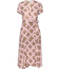 klea long dress aop 6621 knälång klänning samsøe samsøe