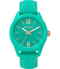 reloj  spindrop speed woman verde claro reebok