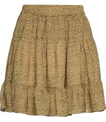 firenze skirt kort kjol brun second female